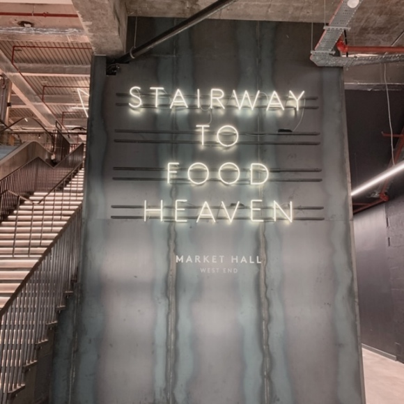Stairway to food heaven market hall west end