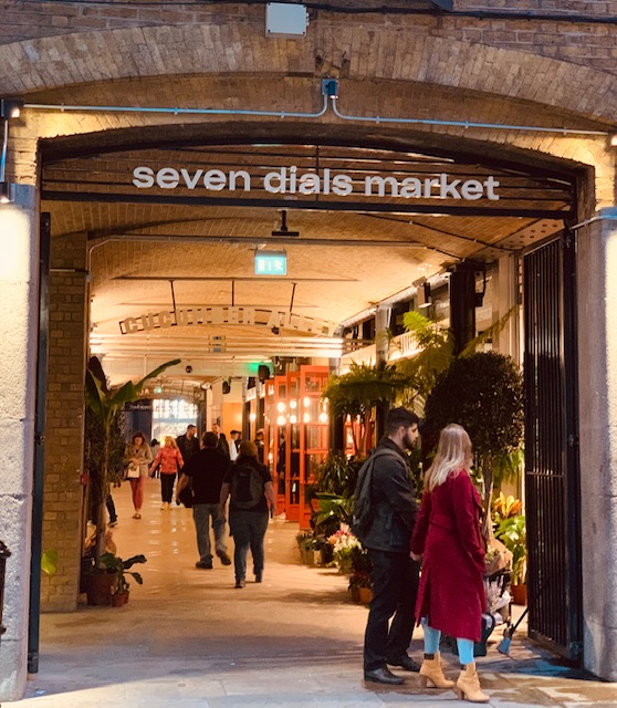 Entrance to Seven Dials Market